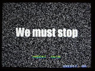 We must stop