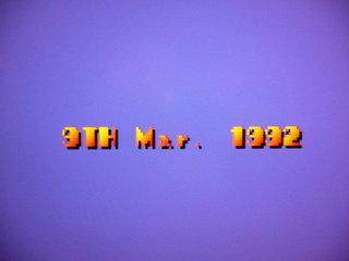 9TH Mar. 1992