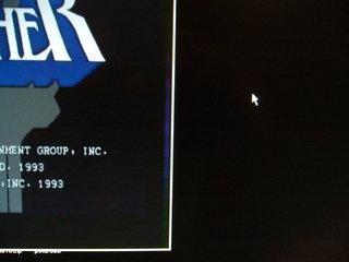 TVC-XGA2のRGB出力をXAV-2sでS端子出力にした映像