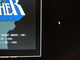 TVC-XGA2のS端子出力の映像