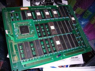 剥き出しのメガシステム32のサブボード