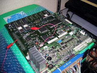 無印のサブボードにEXのROMを装着