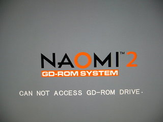CAN NOT ACCESS GD-ROM DRIVE.