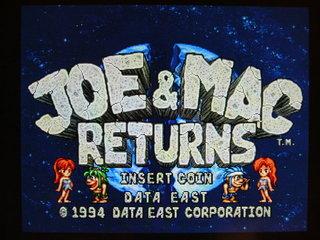 ジョー&マック リターンズ