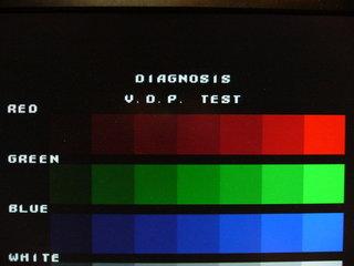VDPのテストはOKっぽい