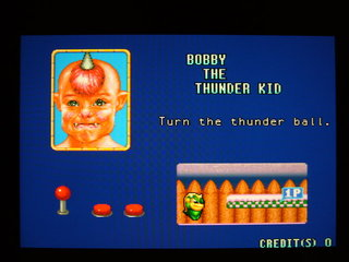 BOBBY THE THUNDER KID