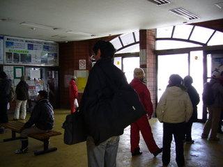 蔵王温泉のバス停