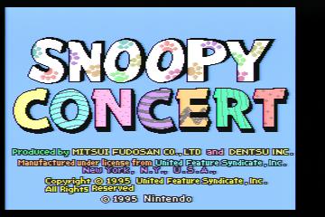 スヌーピーコンサート
