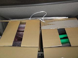 車の中の荷物その1