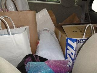 車の中の荷物その2