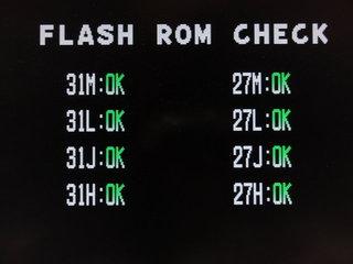 Flashから起動させようとすると,表示が変わる