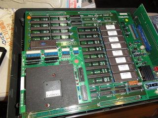 プログラムROMとCボードを交換