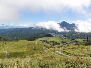 山頂からの景色とか