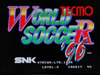 テクモワールドサッカー'96