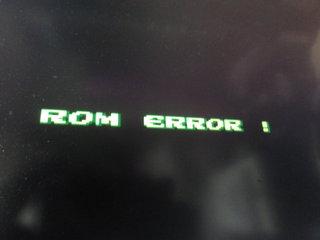 ROM ERROR !