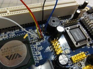 BIOSのEEPROMに配線