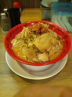 野郎ラーメン 辛ミソ+野菜