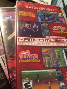 NAMCO MUSEUM BATTLE COLLECTIONなど