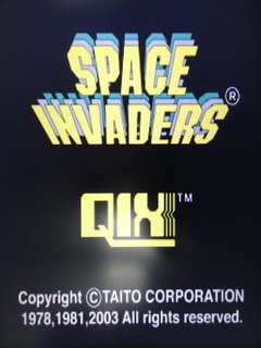 SPACE INVADERS / QIX