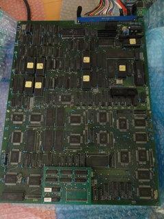 雷電の基板の表側