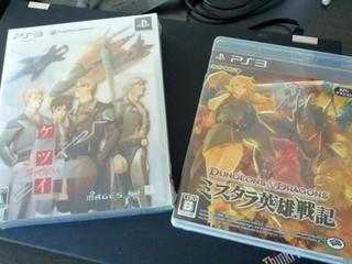PS3版ケツイなど