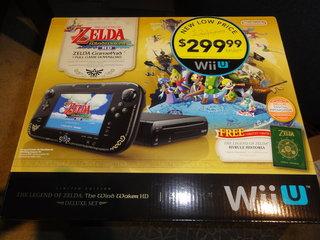 Wii U 風のタクト同梱版