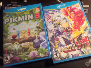 PIKMIN3とThe Wonderful 101