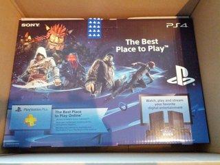 PS4届きました